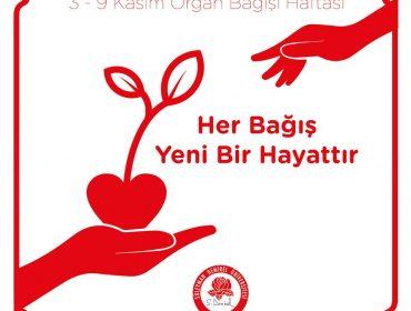 3-9 Kasım Organ Nakli Haftası